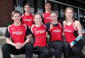 MT-Athleten starteten erfolgreichin Bebra  in die Bahnsaison 2016. Foto: nh