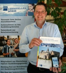 IHK-Bildungsberater Björn Duen. Foto: nh