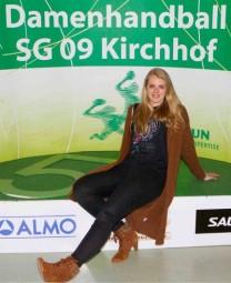 Die 19-jährige Rückraumspielerin Danique Boonkamp trägt nächste Saison das grüne Kirchhof-Trikot. Foto: SG 09 Kirchhof