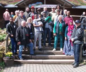 Lions Club Homberg mit Somaliern im Wildpark Knüll. Foto: nh