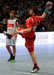 Bester MT-Torschütze gegen Balingen: Momir Rnic (7 Tore). Foto: Hartung
