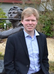 Juso-Bezirksvorsitzender Oliver Schmolinski. Foto: nh