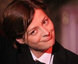 Sängerin und Kabarettistin Romy Hildebrandt. Foto: nh
