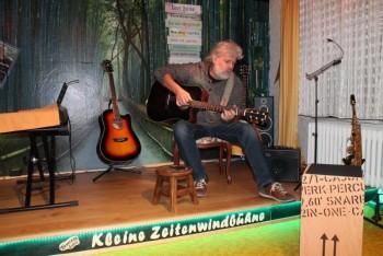 Shiregreen live auf der Sondheimer Zeitenwindbühne. Foto: nh