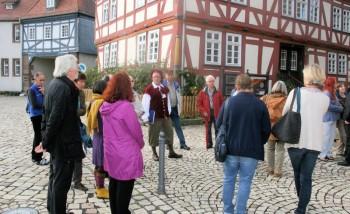 """""""Geburtsort der Konfirmation - Stadtführung in Ziegenhain. Foto: nh"""