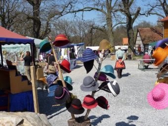 Frühlingsmarkt im Tierpark Sababurg am 30. April und 1. Mai. Foto: nh