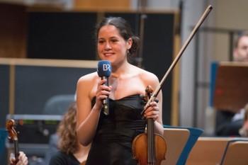 Marie-Claudine Papadopoulos, Preisträgerin des letzten Violinwettbewerbs (2012). Foto: nh