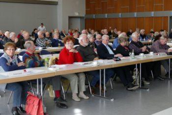 Blick in die Bezirkskonferenz. Foto: nh