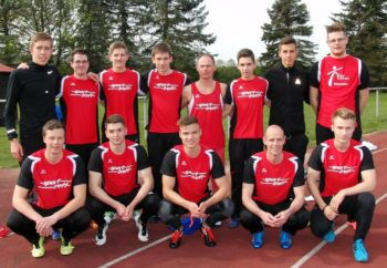Die Sprinter der MT Melsungen bei den Kreismeisterschaften in Felsberg. Foto: nh