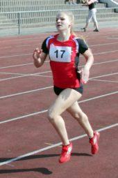 Franziska Ebert verbesserte sich im 100m-Lauf auf 13,75 Sekunden. Foto: nh