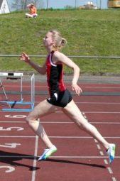 Johanna Wagner mit neuer Jahresbestleistung über 200 Meter. Foto: nh