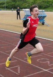 Lars Werner überzeugte mit einer neuen 100-Meter-Bestzeit. Foto: nh