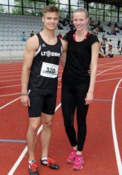 Dennis Horn und Katharina Wagner. Foto: nh