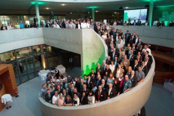 248 Jubilare wurden am Donnerstag feierlich für ihre Betriebszugehörigkeit bei der B. Braun Melsungen AG geehrt. Foto: B. Braun Melsungen AG