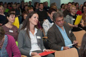 Rund 100 Pädagogen aus Schulen, Kindergärten und anderen Einrichtungen waren gekommen. Foto: B. Braun Melsungen AG
