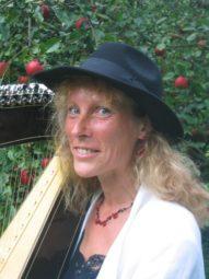 Harfenistin Christa Werner. Foto: nh