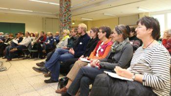 """Das zweite """"Forum-Asyl.Schwalmstadt"""" fand gestern Abend in der Treysaer Schule im Ostergrund statt. Foto: nh"""