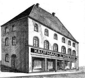 Das frühere Kaufhaus Höxter in Homberg. Quelle: nh