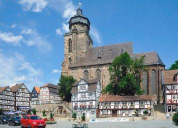 Stadtkirche Homberg (Efze). Foto: hr/Evangelische Kirche von Kurhessen-Waldeck