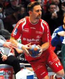 Christian Hildebrand und Handball-Bundesligist MT Melsungen haben die Auflösung des eigentlich noch bis 2018 gültigen Vertrages vereinbart. Foto: Heinz Hartung