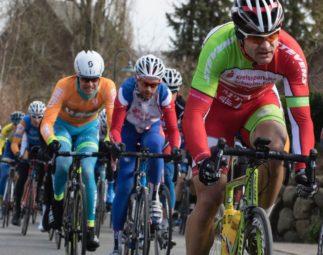 Im Hauptrennen der Elite-BC-Klasse konnte dann der für die MT Melsungen startende Baunataler Hans Hutschenreuter (vorn) einen ausgezeichneten viert Platz erreichen. Foto: nh