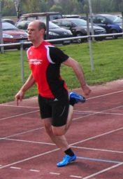 Pierre Nasser bei seinem Erfolg über 100 Meter. Foto: nh