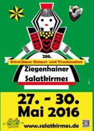 Ziegenhainer Salatkirmes vom 27. bis 30. Mai.