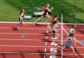 Katharina Wagner sicherte sich mit 12,99 Sekunden Rang fünf im B-Finale der Frauen. Foto: nh