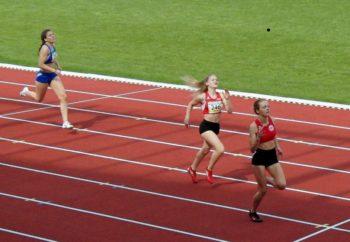 Mit einem beeindruckenden 400-Meter-Rennen überzeugte Franziska Ebert als Vize-Hessenmeisterin nach 60,99 Sekunden. Foto: nh