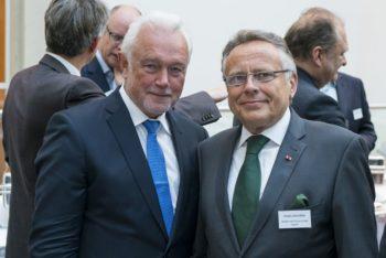 Wolfgang Kubicki (FDP) und Alwin Altrichter (v.l.). Foto: Netzwerk Mittelstand/Henning Schacht