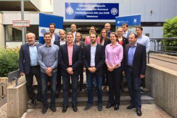 Abschluss des Studiengangs European Handball Manager an der Sporthochschule Köln. Foto: privat/nh