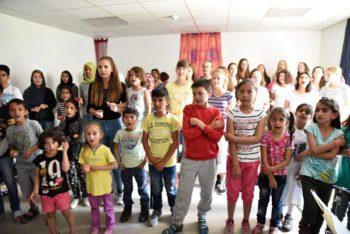 Flüchtlingsprojekt im Kultursommer Nordhessen. Foto: nh