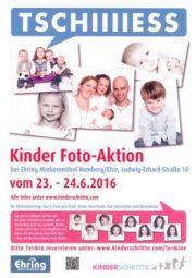 Kinder-Fotoaktion bei der Firma Ehring in Homberg am 23. und 24. Juni.