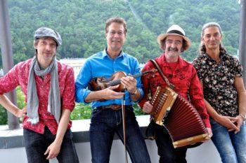 Patrick Leuschner, Helt Oncale, Yannick Monot und Klaus Noll (v.l.). Foto: nh