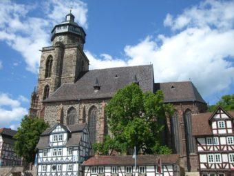 Die Marienkirche in Homberg. Foto: Knuelltouristik