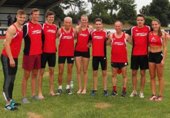 Neun Melsunger Leichtathleten starteten über 400 Meter. Foto: nh