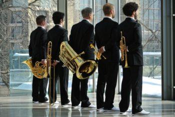 Canadian Brass. Foto: Bo Huang/Kultursommer Nordhessen