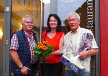 Arne Beneke, Doris Küllmer und Uwe Ludwig. Foto: nh