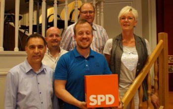 Der neue Vorstand: Volker Klute, Jan Rauschenberg, Timo Riedemann, Günther Schmoll und Ulrike Hund. Foto: nh
