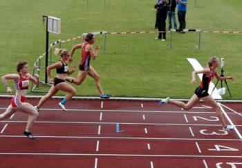 Katharina Wagner siegte über 100 Meter mit der neuen Jahresbestzeit von 12,71 Sekunden. Foto: nh