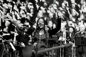 Musikerin Judy Bailey. Foto: nh