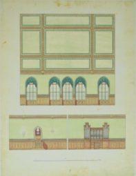 Die Aula historisch von Innen. Quelle: Schulmuseum der BTHS