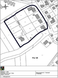 Die Abgrenzung des räumlichen Geltungsbereiches ist dem Übersichtsplan (ohne Maßstab) zu entnehmen. Quelle: Stadt Melsungen