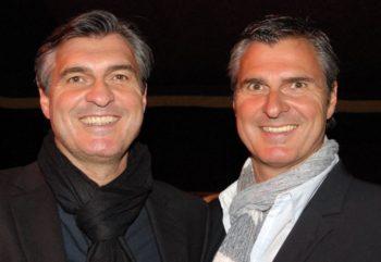 Michael und Uli Roth (v.l.). Foto: nh