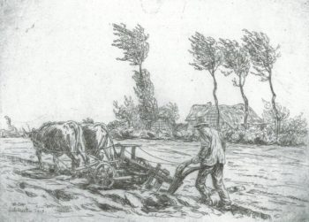 Der Pflüger von Heinrich Otto. Quelle: Willingshausen Touristik Betriebsgesellschaft mbH