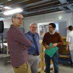 Firmeninhaber Armin Heß gewährt Einblick in seinen Betrieb. Foto: nh