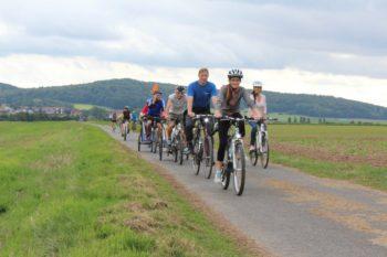Tour de Chattengau bedeutet Radspaß für die ganze Familie ab Edermünde, Gudensberg und Niedenstein. Foto: Stadt Gudensberg