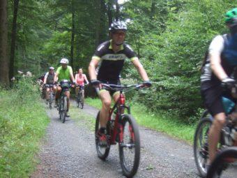 Die Route verläuft weitestgehend abseits der bekannten Radwanderwege, überwiegend auf Wirtschaftswegen, die allerdings nur zum geringeren Teil asphaltiert sind. Foto: nh