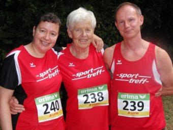 Die drei MT-Starter in Friedberg -  Monika Groh, Hella Böker und Bernd Gabel. Foto: nh