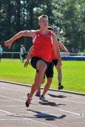 Dennis Horn siegte im 100m-Lauf in 11,23 Sekunden. Foto: nh